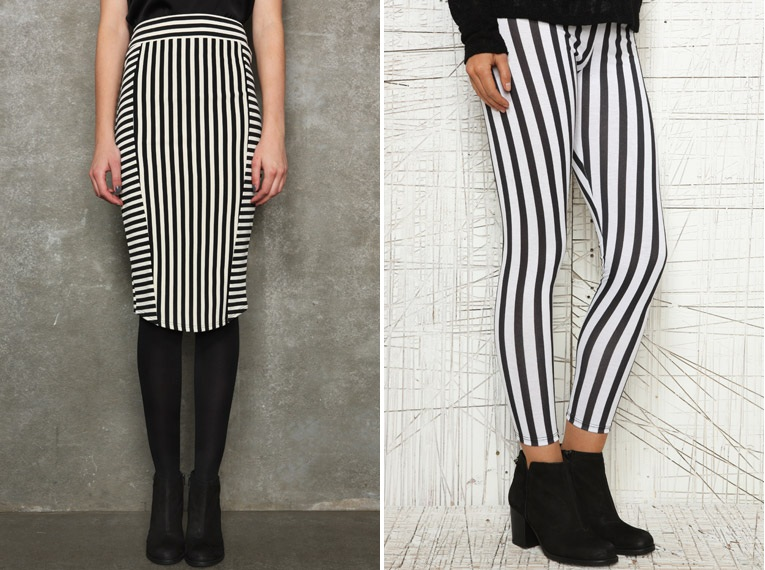 falda-lápiz-a-rayas-urba-outfitters 02