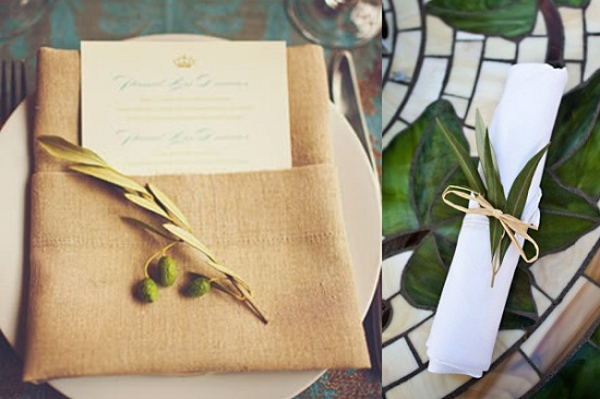 Olive-Branch-Wedding-Place-Settings