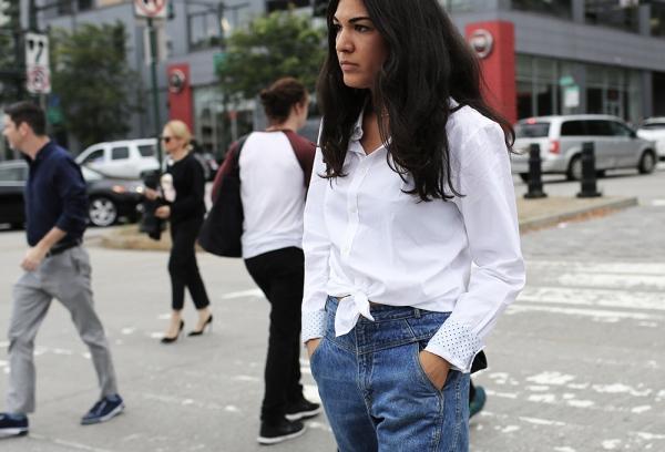 camisa-anudada-tie-front-streetstyle