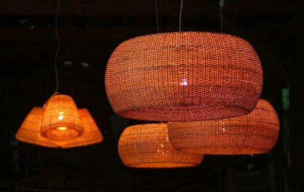 lámparas de mimbre 02 (mueblres chile)