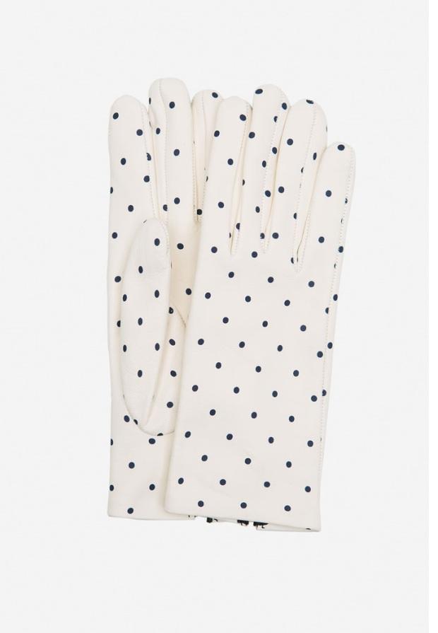 guantes de lunares uterqüe