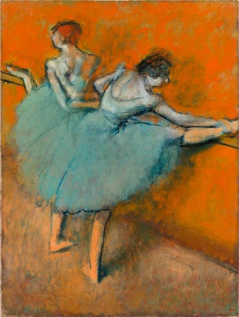 Degas-bailarinas-en-la-barra-1900