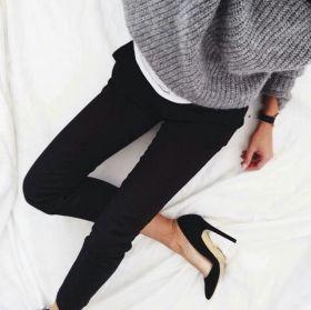 outfit-con-tacones-negros